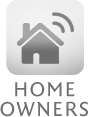 Satellite Home Owners Icon