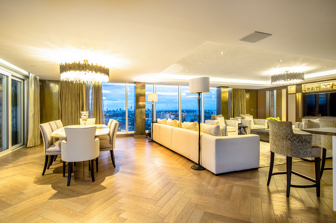 London Penthouse Dining