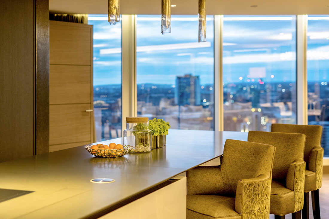 London Penthouse Kitchen