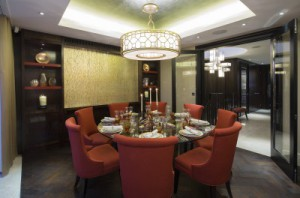 Queens Court Penthouses Dining Room