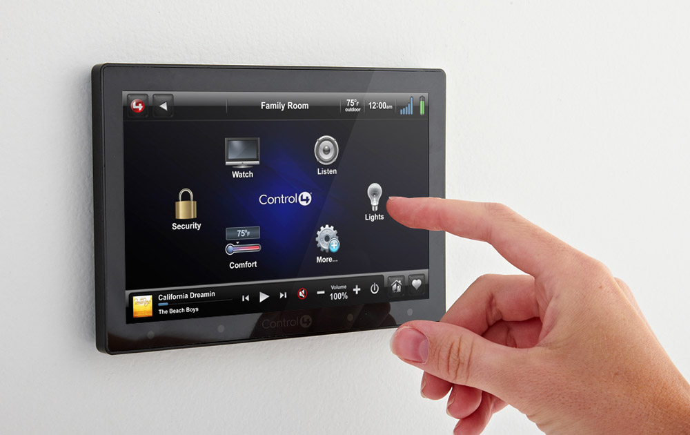 automated home control installation london