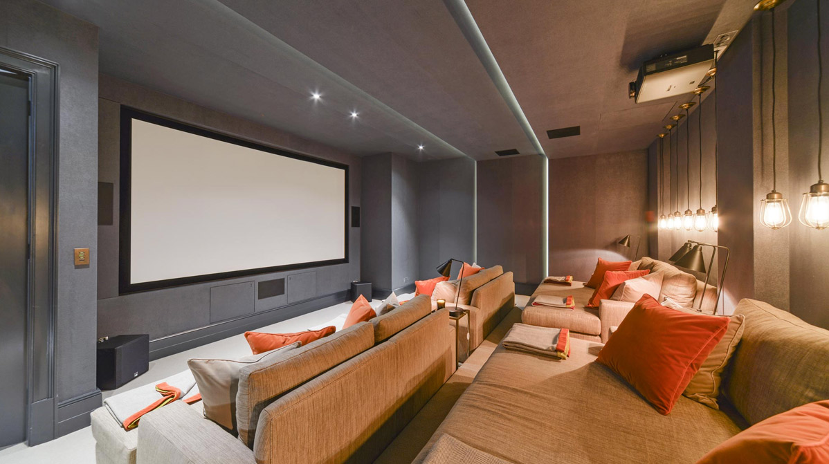 Home Cinema Room installation
