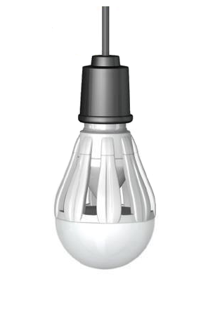 Light-emitting diode (LED) bulb