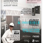 August Newsletter | Integrated & Invisible Home Technology | KAV London