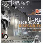 July Newsletter home technology and security | KAV London