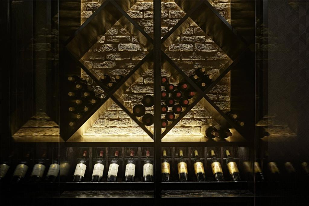 wine rack LED lighting